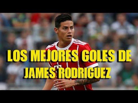 Los mejores  Goles de James Rodriguez 2018