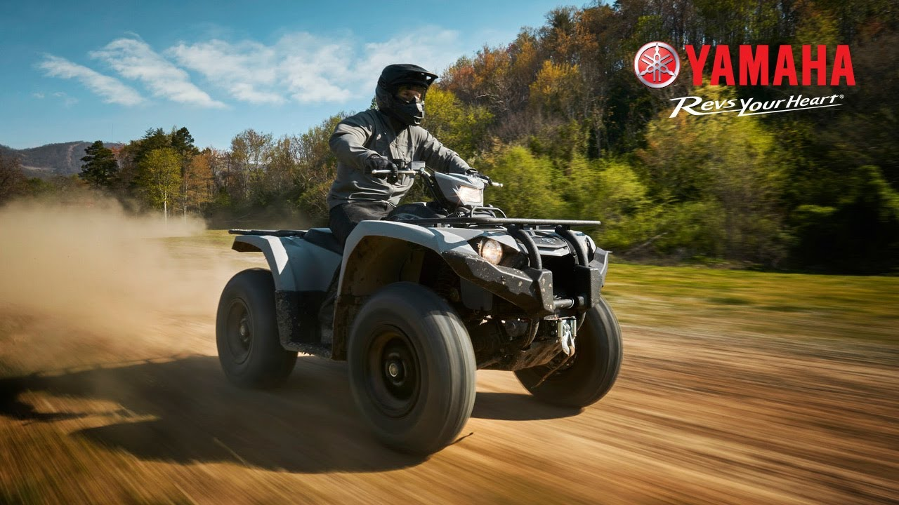 2018 All-New Yamaha Kodiak 450