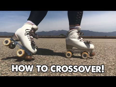 HOW TO DO A CROSSOVER!   Planet Roller Skate