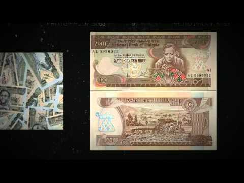 Ethiopian money currency Birr list and images