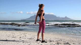 Be Beach Fit #6: 1 minute workout - Legs & Bum
