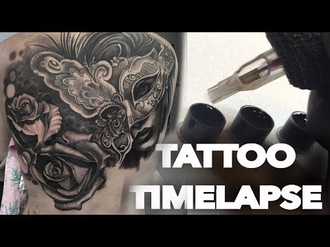TATTOO TIME LAPSE | HUGE 2 DAY BACK PIECE | CHRISSY LEE
