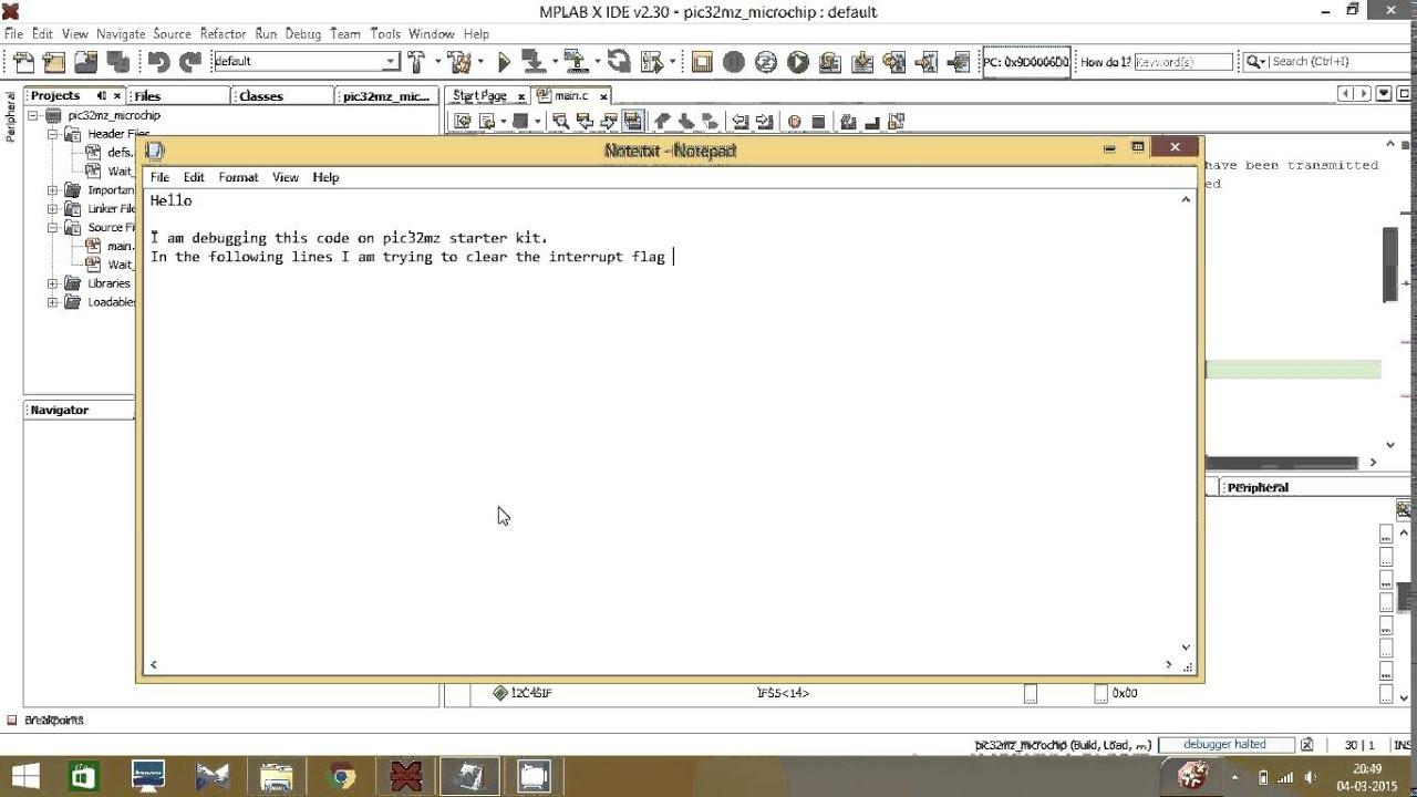 pic32 uart problem