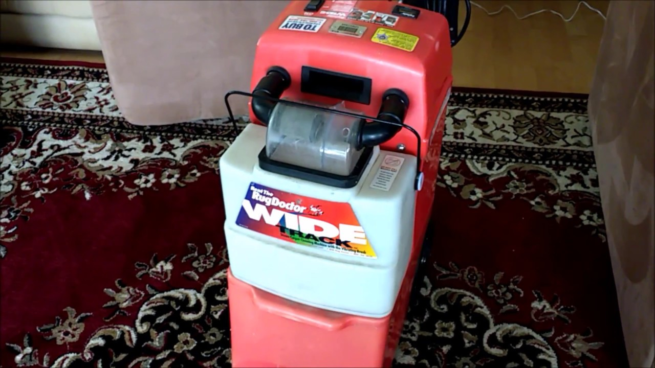 Delightful How To Use A Rug Doctor For Upholstery Cleaning Video