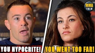 Colby Covington KICKED OUT from Miesha Tate's Radio Show, Frankie Edgar Dropping to Bantamweight