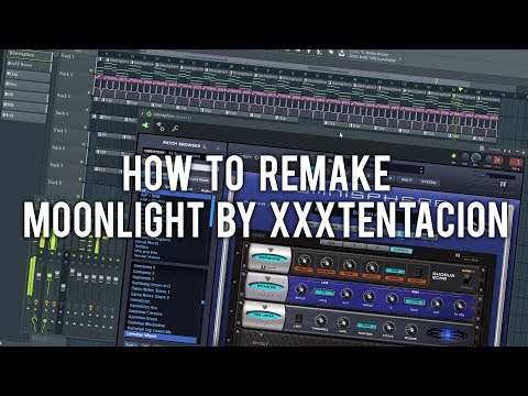 How To Remake Moonlight By XXXTentacion [Beat+Samples DL]