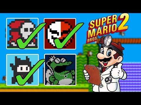 super mario bros 2 enemies list