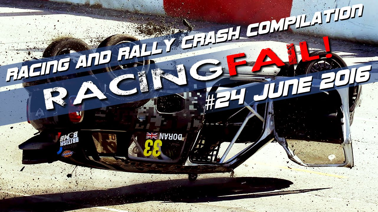 Racing And Rally Crash Compilation Week 24 June 2016