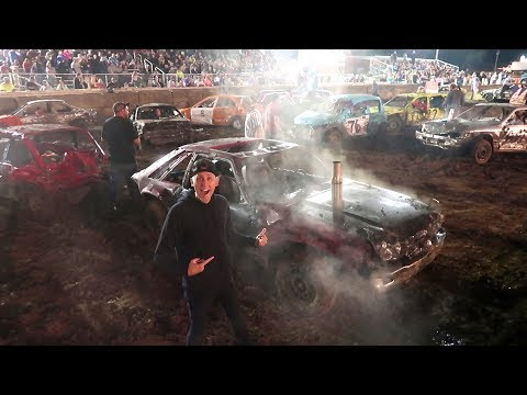 PREPARING FOR BATTLE!! Youtubers Demolition Derby!!