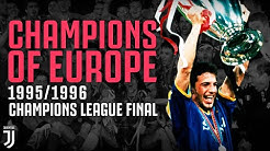 Juventus Win the 1995/1996 Champions League Final! | Champions of Europe