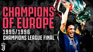 Juventus Win the 1995 1996 Champions League Final Champions of Europe