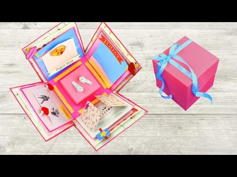 Как сделать из коробки подарок