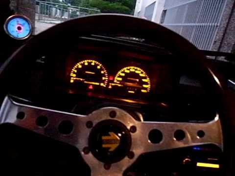kia Pride ford festiva 1993 ignition & exhaust sound