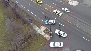 Open Carry - Cops Draw Guns, Don't Detain in Detroit, MI(http://www.LibertyIsForEveryone.com http://www.FreedomIsForEveryone.com http://www.facebook.com/LibertyIsForEveryone WTF? We brought a flying drone ..., 2015-01-06T09:46:01.000Z)