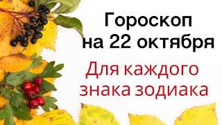 Гороскоп на 22 октября. Для каждого знака зодиака.