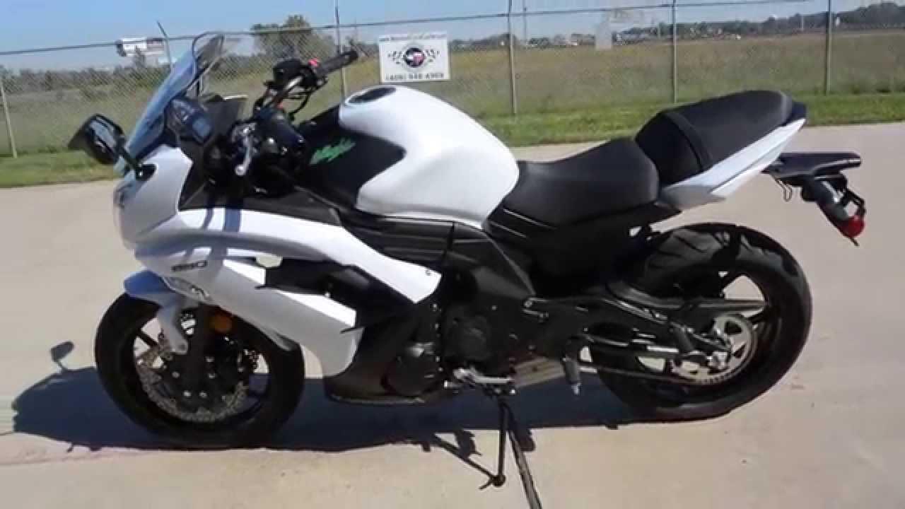 Sale $5,899: 2015 Kawasaki Ninja 650 White Overview and ...