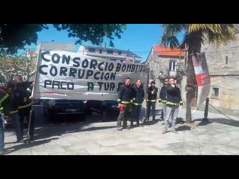 Os bombeiros de Deza-Tabeirós reclaman melloras laborais en Agolada