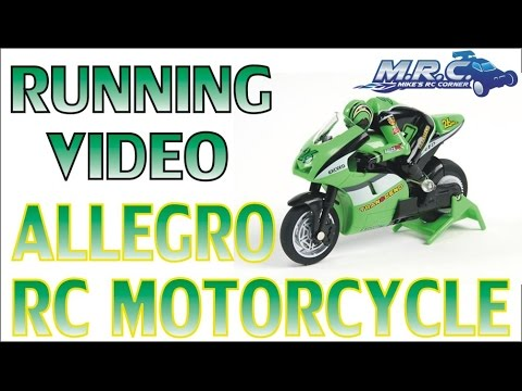 ALLEGRO (A.K.A. SHENQIWEI) RC MOTORCYCLE RUNNING VIDEO!  EP#142