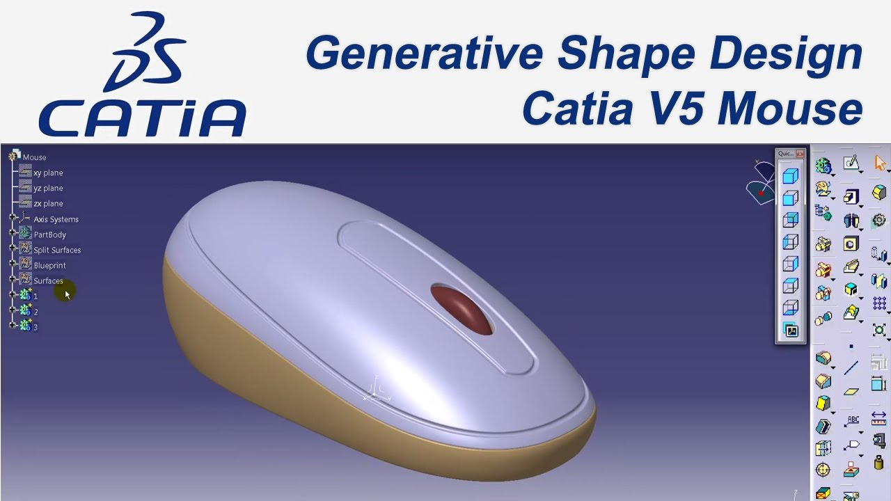 Catia V Generative Shape Design Tutorial Pdf