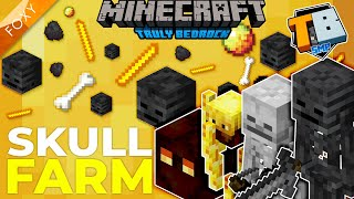 WITHER SKULL FARM | Truly Bedrock Season 2 [22] | Minecraft Bedrock Edition 1.16 SMP