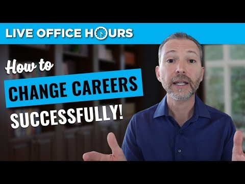 How to Change Careers Successfully: Live Office Hours: Andrew LaCivita