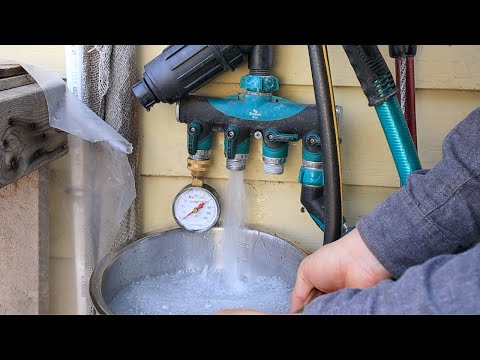 How To Test Irrigation Pressure And Flow Rate?