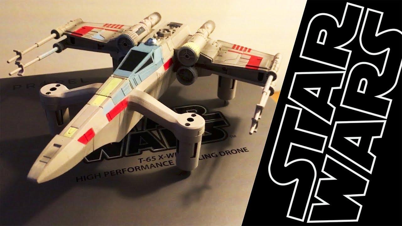 Ferngesteuertes Propel Star Wars Quadrocopter Kampfdrohne T65 X-Wing
