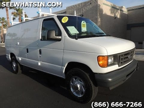 2004 Ford E250 Cargo Van for sale - ONLY 55k Miles - 60 ...