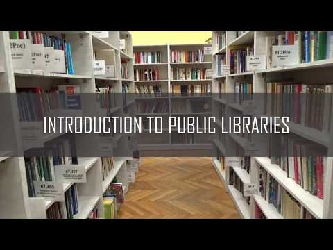 Introduction to Public Libraries Online Course