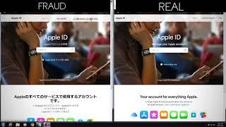 Apple Fraudulent Login Portal | Phishing Dangers!