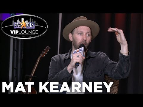 Mat Kearney Talks Bringing Family on Tour,...