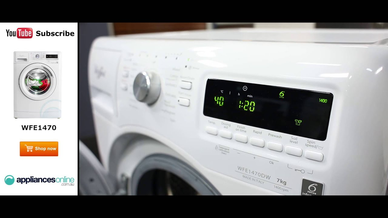 7kg Front Load Whirlpool Washing Machine Wfe1470 Reviewed