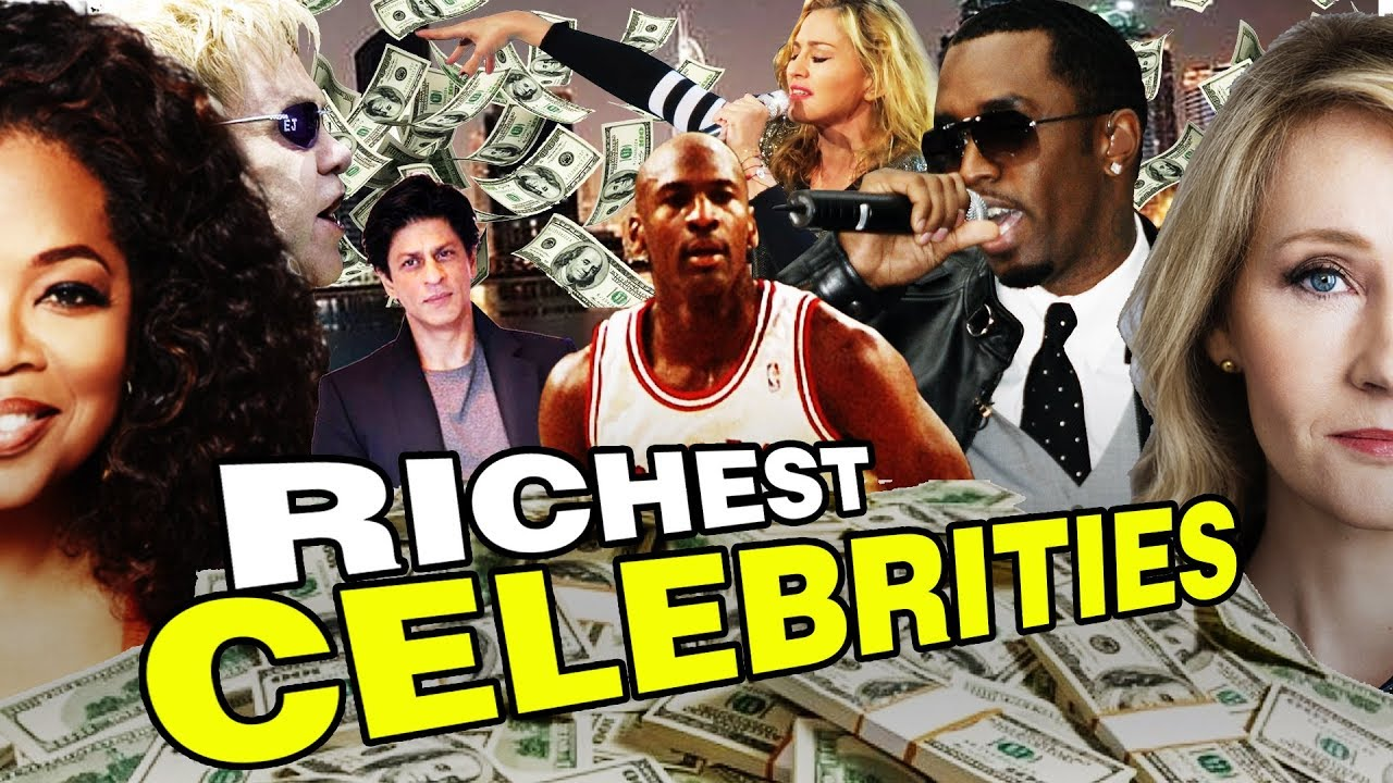 Top 10 Richest CELEBRITIES in the WORLD 2017 - 2018 (Based on NET WORTH)