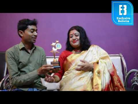 Exclusive Bulletin Talent Award 2018 goes to Singer Anindita Chatterjee