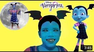 Disney Junior Vampirina Makeup and Dress up pretend play with toys