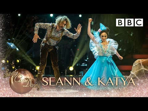 Seann Walsh and Katya Jones Viennese Waltz to 'I Put A Spell On You' - BBC Strictly 2018