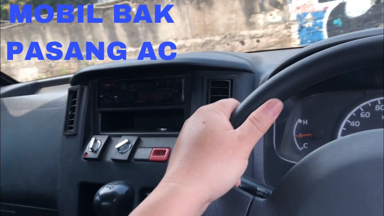 Mobil Bak Terbuka Pasang Ac Daihatsu Gran Max Pick Up Youtube