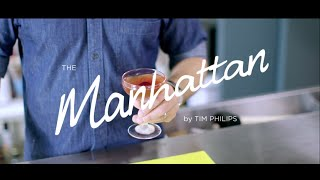 How To Make A The Manhattan Cocktail | World Class Drinks Ft. Tim Philips