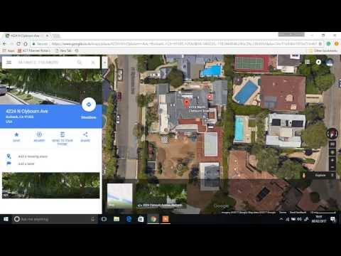 JUSTIN BIEBER'S NEW HOUSE IN LA (EXPOSED in google maps)