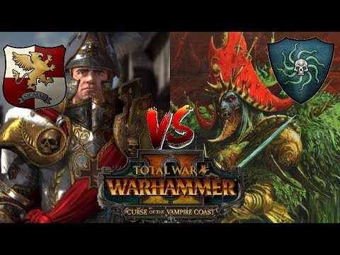 CAN THE EMPIRE ENDURE? | Empire vs Vampire Coast - Total War Warhammer 2