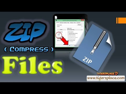How to zip a file (Compress large files to small size) with extension  spoofing trick