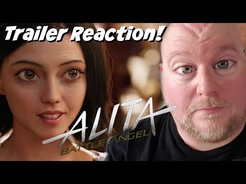 Alita Battle Angel Trailer REACTION 😳