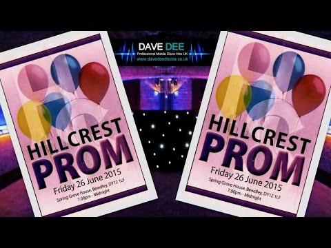 Birmingham Proms: Hillcrest School 2015
