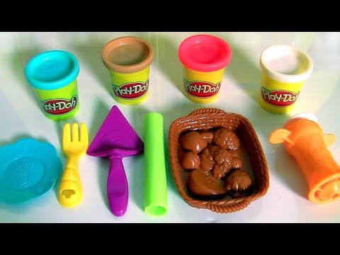 Thumbnail: Play Doh Playful Pies DIY Desserts Cherry Pie & Fruit Basket New 2016 by Hasbro