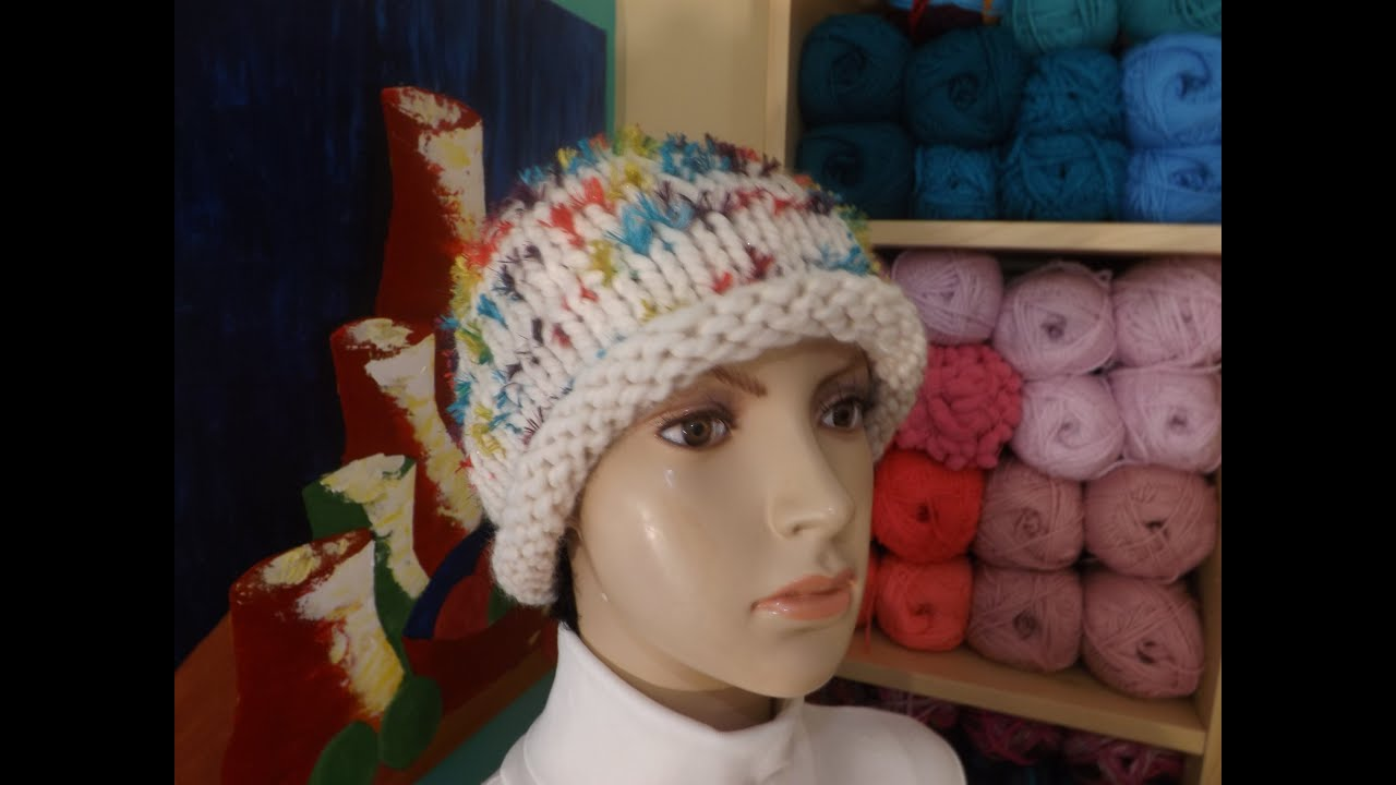 How to knit a easy hat or beanie with circular needles youtube bankloansurffo Images