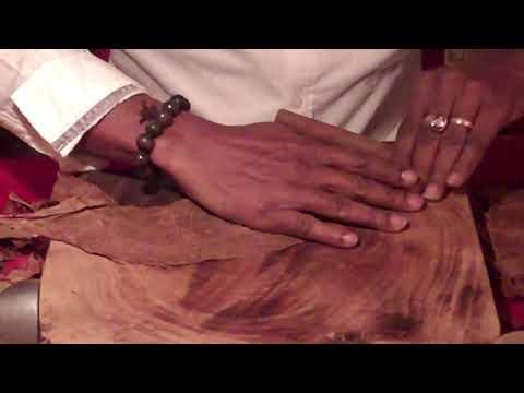 Unintentional ASMR- Hand-rolled Cuban Cigars