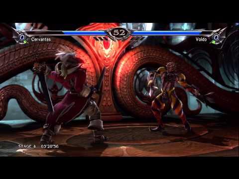 Soul Calibur 5 (360) walkthrough - Cervantes