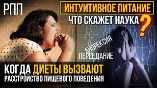 ИНТУИТИВНОЕ ПИТАНИЕ / ДИЕТА / РПП