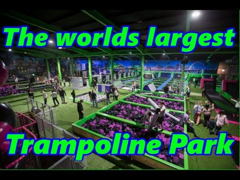 Flipout Glasgow Tour, Biggest and Best in the World!