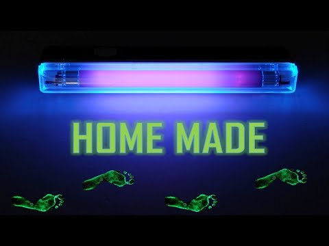 How to make a UV black light at home (easy)